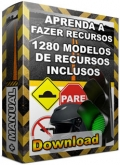 Defenda-se de Multas de Trânsito-1280 MODELOS DE RECURSOS DE MULTAS